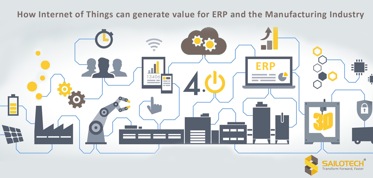 How Internet of Things (IoT)can generate value for ERP and the Manufacturing Industry