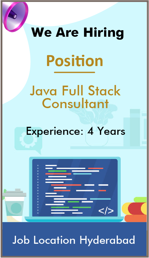 Java Full Stack consultant - Sailotech